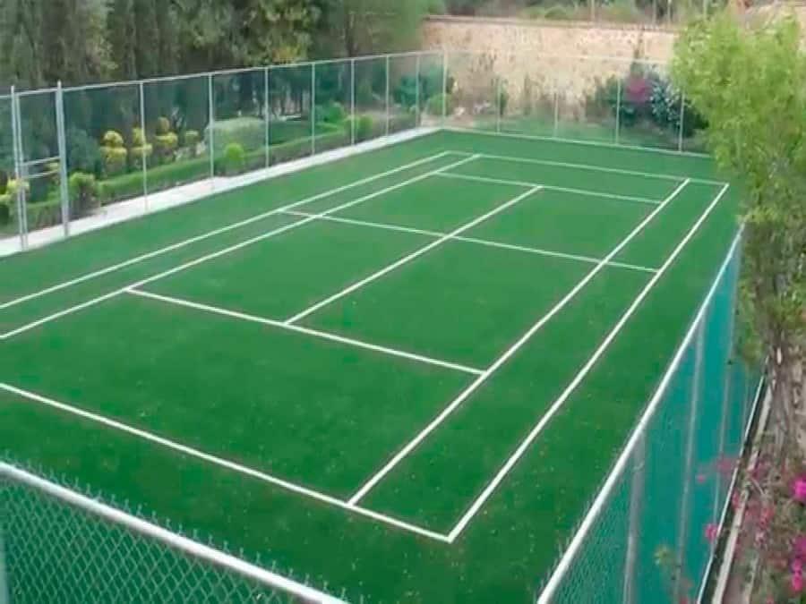 cancha de tenis pasto sintetico 44 XL - Canchas